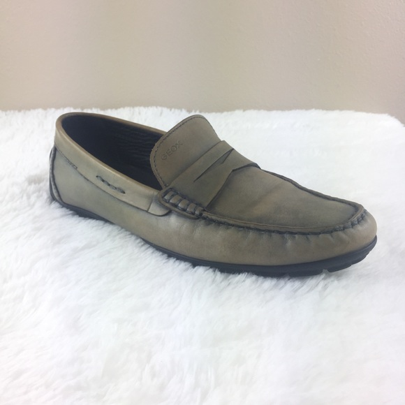 201e3d5274 Geox Shoes | Respira Leather Loafers Driving Moccasins 9 | Poshmark
